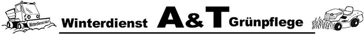 A&T Winterdienst + Grünpflege Logo